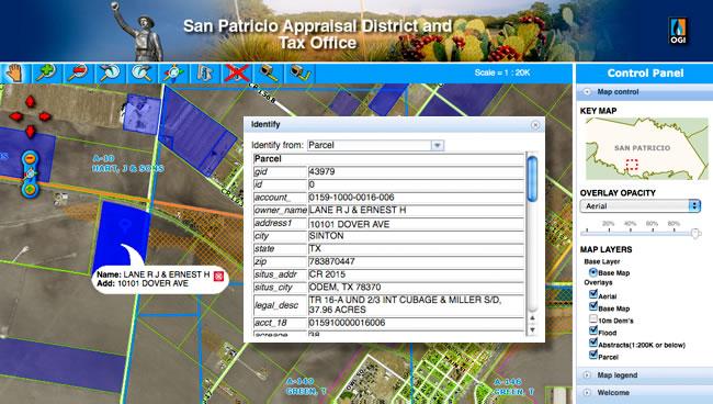 San Patricio County Map