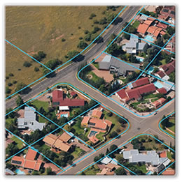 Oblique Aerial Image